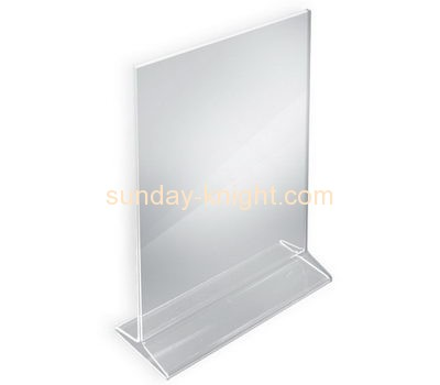 Acrylic display manufacturers custom acrylic a4 notice holders BHK-349