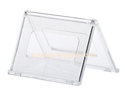 Acrylic products manufacturer custom table display signs holders BHK-359