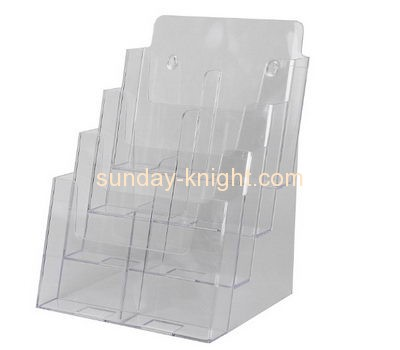 Acrylic display manufacturers custom tabletop brochure display holders BHK-398