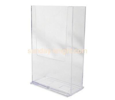 Display stand manufacturers custom acrylic plexiglass magazine rack holder BHK-400