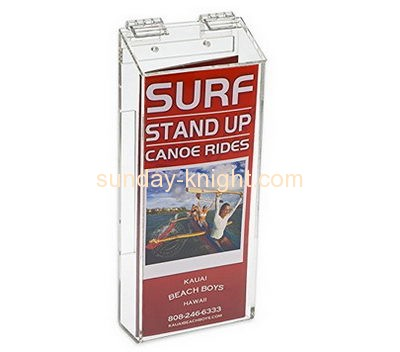 Acrylic items manufacturers custom acrylic waterproof brochure holder BHK-403