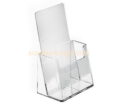 Acrylic plastic supplier custom plexiglass greeting card holder display BHK-415