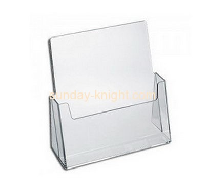 Acrylic products manufacturer custom acrylic brochure holder stand BHK-423
