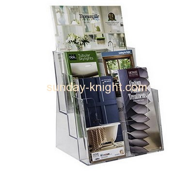 Acrylic display stand manufacturers custom lucite brochures holders BHK-450
