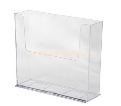 Acrylic products manufacturer custom lucite magazine display holders BHK-472