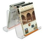 Acrylic box manufacturer custom plexiglass paper magazine holder BHK-502