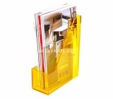 Acrylic display manufacturers custom lucite magazine holder stand BHK-507