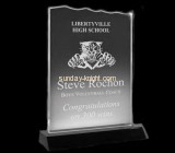 Plastic manufacturing companies custom acrylic awards and trophies ATK-047