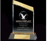 Acrylic display factory custom plexiglass award plaques and trophies ATK-053