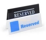 Plexiglass company custom acrylic reserved sign HCK-164