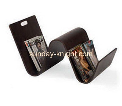 Display stand manufacturers custom acrylic desktop magazine holder BHK-498