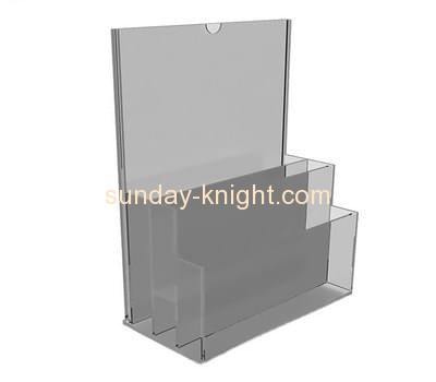 Plexiglass manufacturer custom acrylic pamphlet holders cheap BHK-519