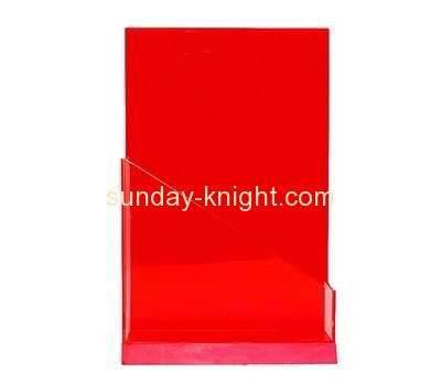 Acrylic supplier custom lucite pamphlet holders cheap BHK-528