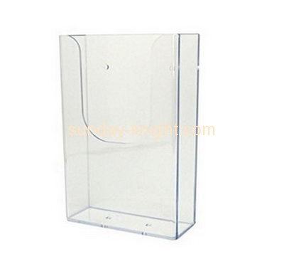 Perspex manufacturers custom plastic magazine holders BHK-535