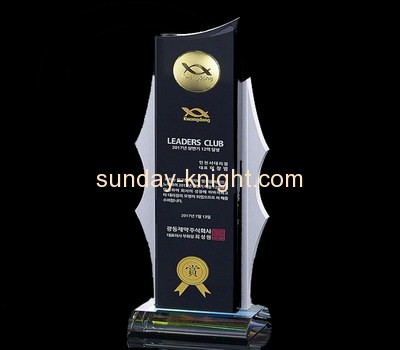 Acrylic display supplier custom perspex awards and trophies ATK-052