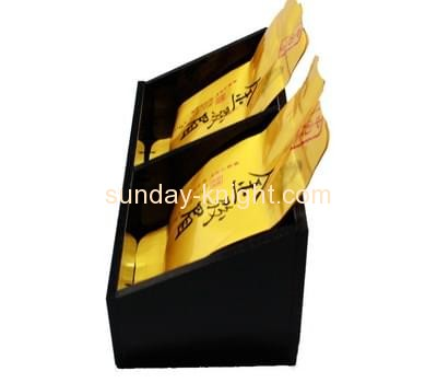 Acrylic display stand manufacturers custom perspex teabag holder HCK-051