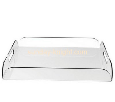 Acrylic display manufacturers custom perspex drink holder tray HCK-059