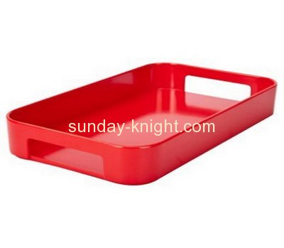Acrylic products manufacturer custom plexiglass tray cup holder HCK-060