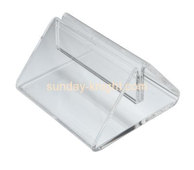 Plexiglass manufacturer custom table tent holders HCK-162