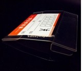 Custom and wholesale acrylic price tag holder for shelves ODK-315