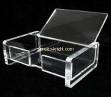 Custom and wholesale small acrylic display boxes ODK-327