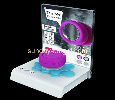 Acrylic items manufacturers custom counter display stands ODK-213