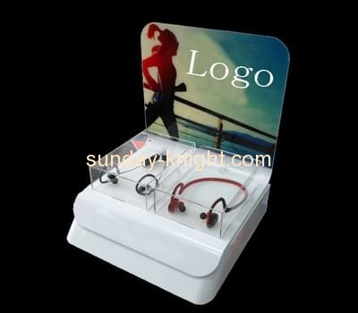 Acrylic products manufacturer custom plexiglass shop stand  ODK-247
