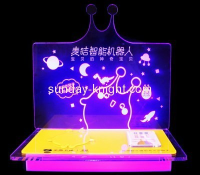 Display manufacturers custom acrylic retail counter display stands ODK-261