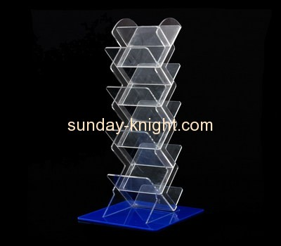 Acrylic plastic supplier custom lucite retail racks ODK-277
