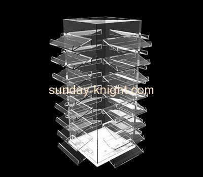 Acrylic plastic manufacturers custom plexiglass display racks ODK-279