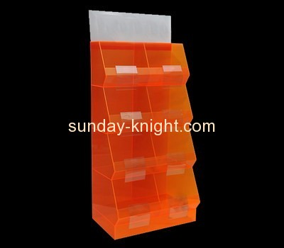 Acrylic products manufacturer custom display case retail ODK-287