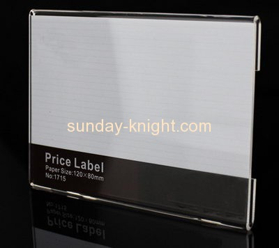Customizable plastic retail shelf talkers ODK-321