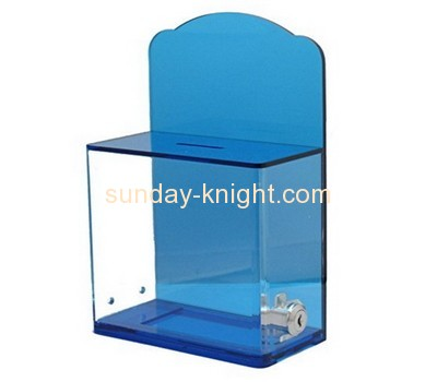 Custom and wholesale acrylic voting ballot box DBK-127