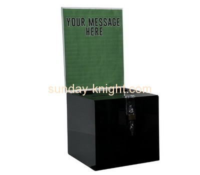Customized acrylic suggestion boxes for sale DBK-197
