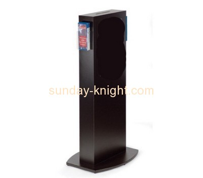Customized acrylic floor standing suggestion box DBK-211