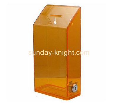 Customized perspex donation collection boxes DBK-222