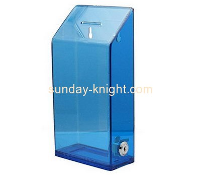 Customized perspex collection boxes for sale DBK-224