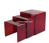 Bespoke red acrylic coffee table designs AFK-097