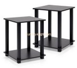 Bespoke black acrylic side table AFK-147