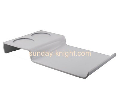 Bespoke white acrylic serving tray STK-054