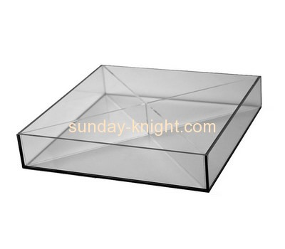 Bespoke small clear plastic trays STK-069