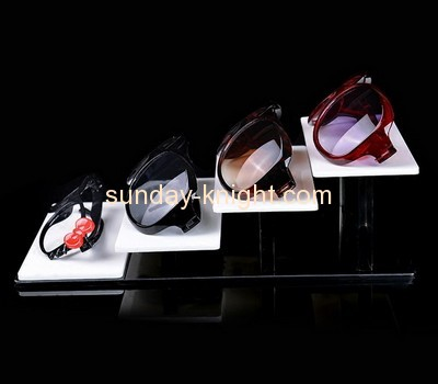 Customized tiered acrylic sunglasses display SDK-038