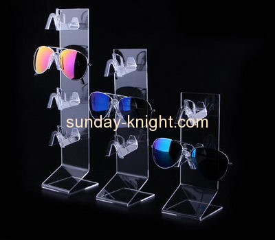 Bespoke tiered clear acrylic eyeglass display SDK-046