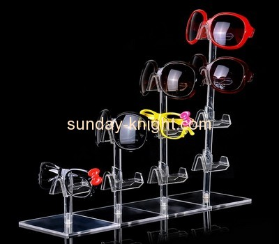 Bespoke tiered acrylic glass display stand SDK-045