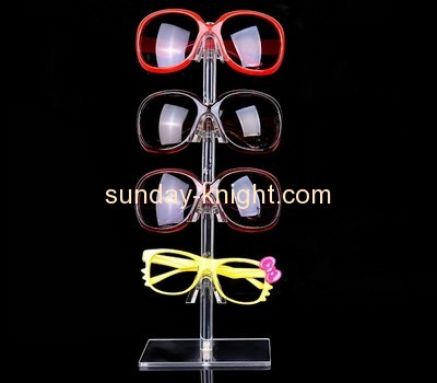 Bespoke clear acrylic glasses display SDK-068