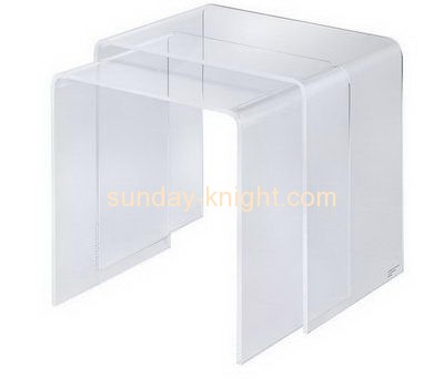 Bespoke clear acrylic coffee table AFK-091