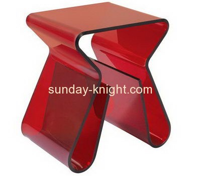 Bespoke acrylic small coffee table with storage AFK-103