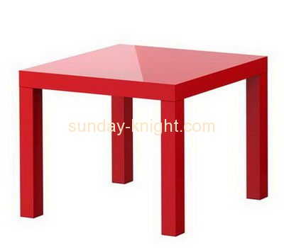 Bespoke red acrylic table AFK-148