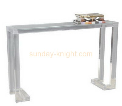 Bespoke acrylic long side table AFK-156