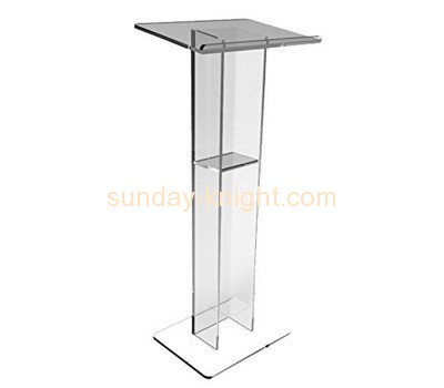 Bespoke clear acrylic podium for sale AFK-180